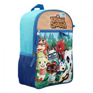 Animal Crossing Schulset Charaktere Rucksack